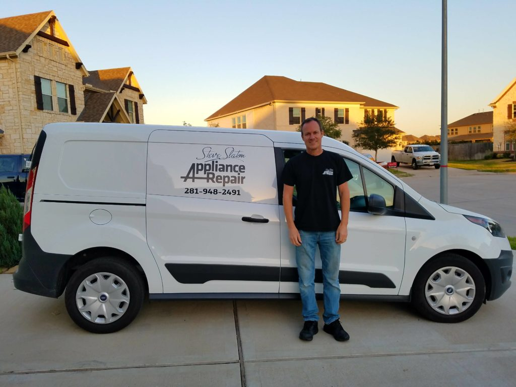 Van Pic Steve Slaton Appliance Repair